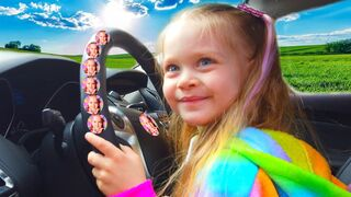 The We are in the Car Wheels On The Bus Song Nursery Rhymes & Kids Songs