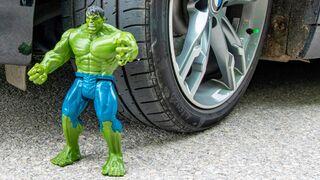 Crushing Crunchy & Soft Things by Car! EXPERIMENT CAR vs HULK