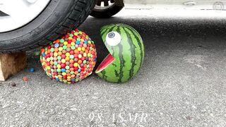 Experiment Car vs Pacman, Cola, Fanta, Pepsi Balloons | Crushing Crunchy & Soft Things by Car | ASMR