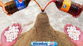 Coca Cola, Fanta, Pepsi, Sprite vs Mentos in Underground