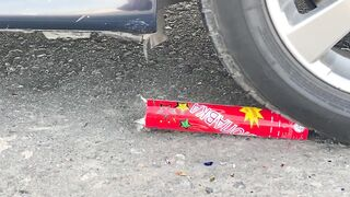 Crushing Crunchy & Soft Things by Car! EXPERIMENT Poop, Cars, Jelly VS Car