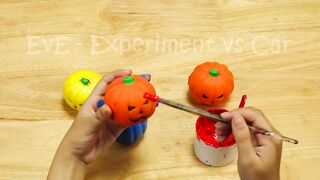 Experiment Car vs Color Orbeez in Mini Aquarium   Crushing Crunchy & Soft Things by Car   EvE