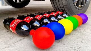 Experiment Car vs Pepsi & Balloons   Crushing Crunchy & Soft Things by Car   EvE