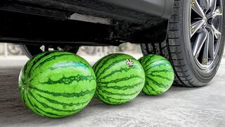 Top 25 Experiment Car vs Watermelon   Crushing Crunchy & Soft Things by Car   EvE