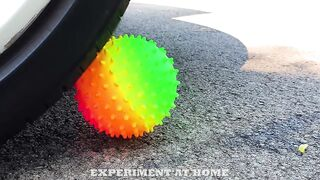 EXPERIMENT: Orbeez Balloons VS CAR - Crushing Crunchy & Soft Things by Car!