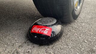 Experiment Car vs Coca Cola in Condom | Crushing Crunchy & Soft Things by Car | Experiment Car US