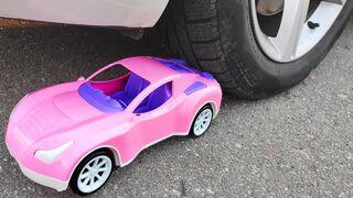 Experiment: Car Toys vs Car - Crushing Crunchy & Soft Things by Car