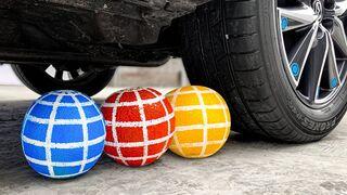 Crushing Crunchy & Soft Things by Car!- EXPERIMENT: CAR vs Melon