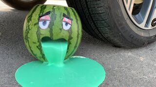 Top 25 Crushing Crunchy & Soft Things by Car 2021 | Experiment Car vs Watermelon, Balloons | Test Ex