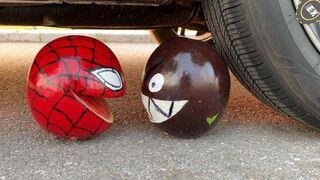 Experiment Car vs Different Fanta, Coca Cola, Schweppes, Pepsi, Sprite Underground VS Mentos | #144