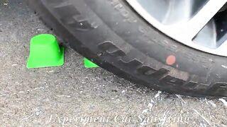 Experiment Car vs Glass vs Lava, Fanta, Coca Cola, Sprite, Pepsi, Mirinda vs Mentos in Underground