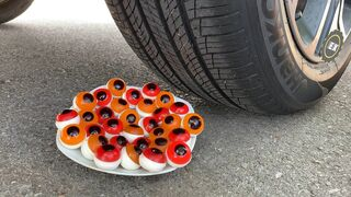 Crushing Crunchy & Soft Things by Car! Coca Cola, Different Fanta, Mtn Dew, Pepsi, Sprite vs Mentos