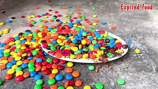 Experiment: Car vs M&M Candy, Slime, Orbeez   Crushing Crunchy & Soft Things by C