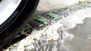 Top 5 Experiment: Car vs Colored Water Balloons | Crushing Crunchy & Soft Things by Car