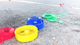 EXPERIMENT: CAR VS Rainbow Toys   Crushing Crunchy & Soft Things by Car