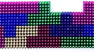 Playing Arkanoid Arcade with Magnetic Tetris   Magnetic Balls !!