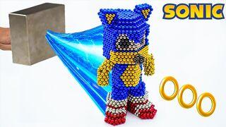 Giant Magnet vs Sonic !!