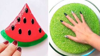Relaxing Slime Compilation ASMR | Oddly Satisfying Video #128