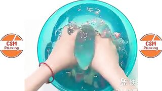 Satisfying Slime ASMR   Relaxing Slime Videos # 1509