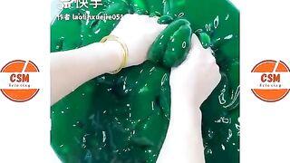 Satisfying Slime ASMR   Relaxing Slime Videos # 1235
