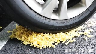 Crushing Crunchy & Soft Things by Car! - EXPERIMENT Cereal vs Car