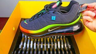 Shredding Nike AirMax Shoes!