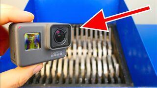 RECORDING GoPro vs SHREDDER!