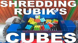 SHREDDING RUBIK'S CUBES