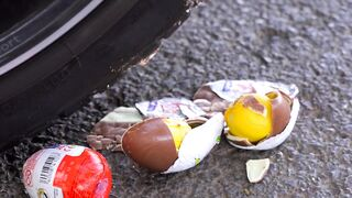 Experiment Car vs Colors Paint | Crushing Crunchy & Soft Things by Car!