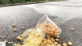 Crushing Crunchy & Soft Things by Car! EXPERIMENT CAR vs COCA COLA, FANTA, SPRITE 2