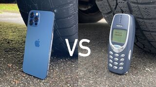 iPhone 12 vs Nokia 3310 vs CAR