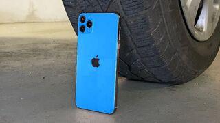 EXPERIMENT: CAR vs IPHONE 11 PRO