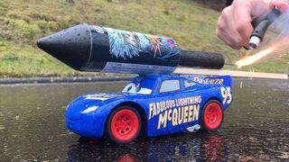 Rocket powered RC Fabulous Lightning McQueen from Disney Cars 3 !!