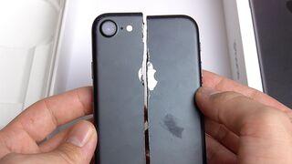 CUT IPHONE 7 IN HALFS! EXTREME DESTRUCTION!