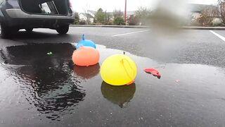 Experiment Car vs Coca Cola, Fanta, Cake Balloons | Crushing Crunchy & Soft Things by Car