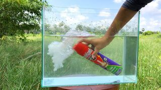 Crushing Crunchy & Soft Things by Car -EXPERIMENTS: CAR VS TOYS -INSECTICIDE SPRAY UNDERWATER