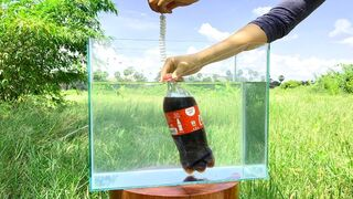 Crushing Crunchy & Soft Things by Car -EXPERIMENTS: COCA COLA VS MENTOS UNDERWATER -CAR VS TOYS