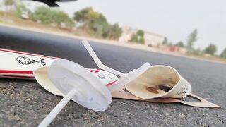 Crushing Crunchy & Soft Things by Car! EXPERIMENT CAR vs KFC DRINKS