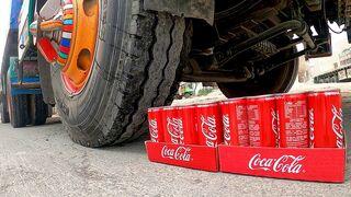 Camión Experimento Vs Coca Cola