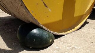 Experiment: Road Roller vs Watermelon Crushing Test