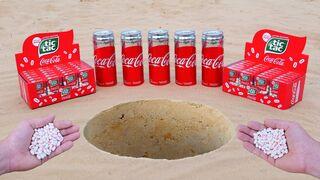Experiment: Coca-Cola vs Tic-Tac Cola Underground