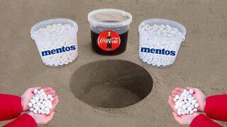 Big Coca Cola vs Mentos !