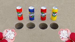Fanta vs Mentos Underground !