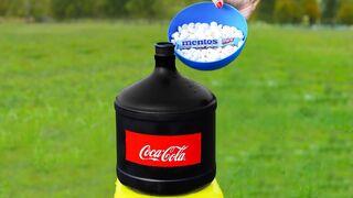 15 Liters Coca cola vs Mentos!