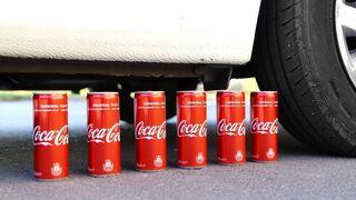 Experiment: Coca Cola vs Car!