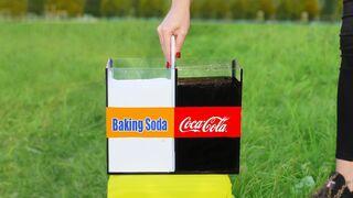 Coca cola vs Baking Soda