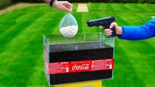 20 Liters Coca Cola vs Mentos !