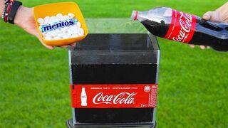 Experiment: Coca Cola vs Mentos !