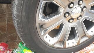 Experiment Car VS Marbles   Crushing Crunchy & Soft Things by Car