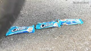 Among US vs Car vs Cola, Sprite, Monster, Fanta | Crushing Crunchy & Soft Things by Car | Test Ex